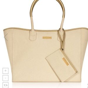 RALPH  LAUREN  TOTE WITH SMALL POUCH